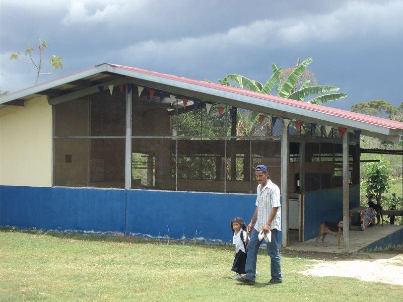 Construcción de comedor escolar