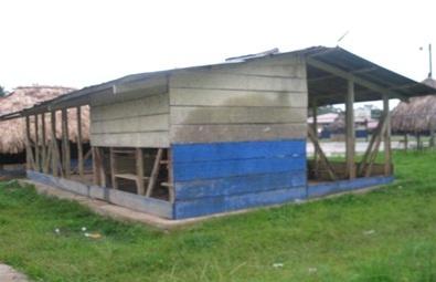 Construcción de Comedores, Cocinas y Letrinas (Diciembre 2011)