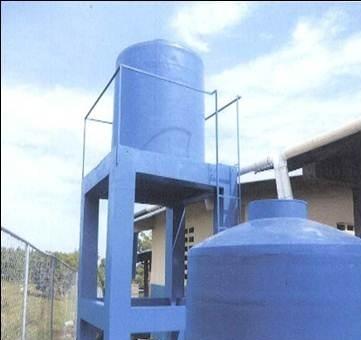 Cosecha de Agua lluvia con filtro y Clorinador